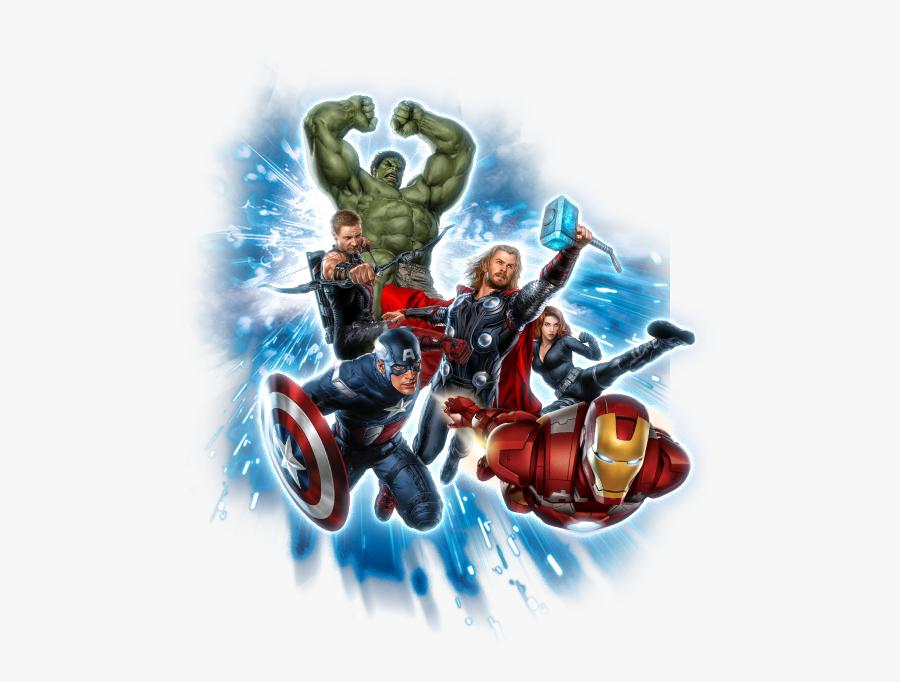 America Superhero Hulk Thor Avangers Black Captain - Captain America Thor Iron Man Png, Transparent Clipart
