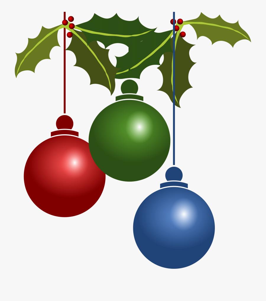 Christmas Holiday Clip Art, Transparent Clipart