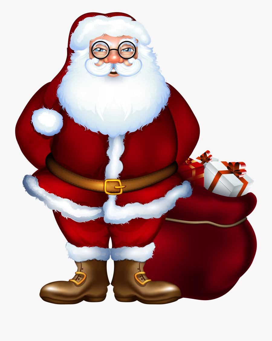 Santa Claus Png Clipart, Transparent Clipart