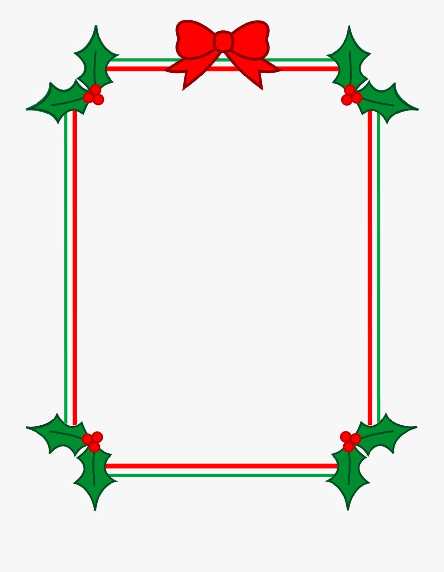 Christmas Clipart Borders Free For Mac Free - Christmas Songs Lyrics Short, Transparent Clipart