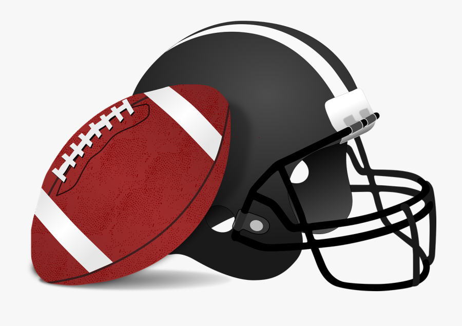 Clip Art Football Helmet - Football And Helmet Clipart , Free Transparent  Clipart - ClipartKey