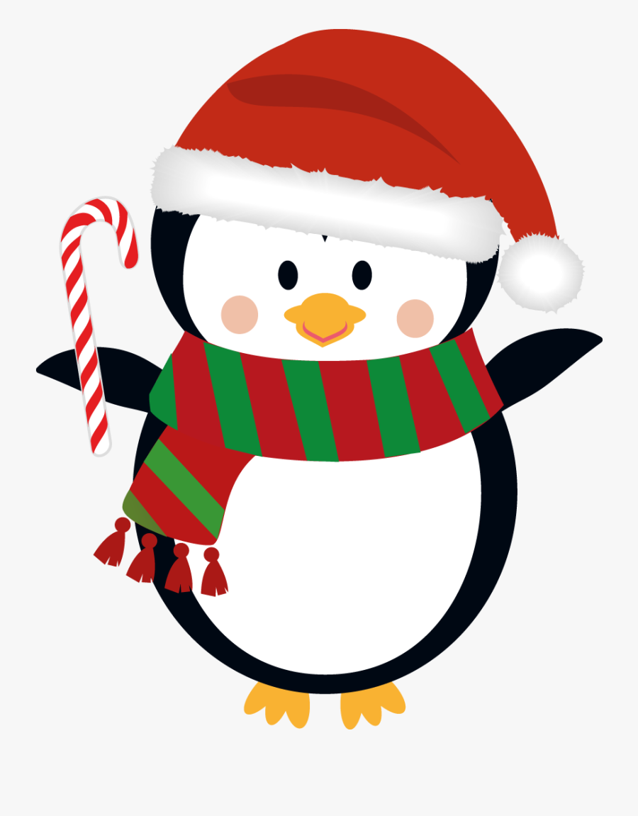 Image Result For Penguin - Cute Christmas Background Png, Transparent Clipart