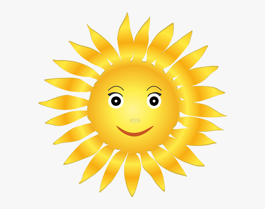 Thumb Image - Clipart Image Of Sun, Transparent Clipart