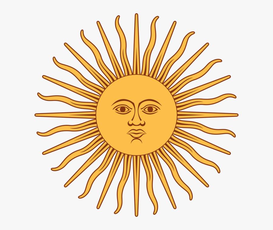 Sun - Clipart - Transparent - Background - Sun On The Argentina Flag, Transparent Clipart