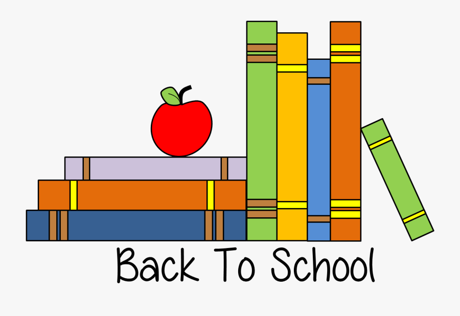 Back To School Clipart Illustrations On Back - High School Back To School Clipart, Transparent Clipart