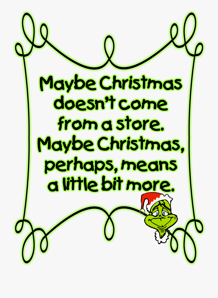 How The Grinch Stole Christmas Clipart - Merry Christmas Grinch Clipart, Transparent Clipart
