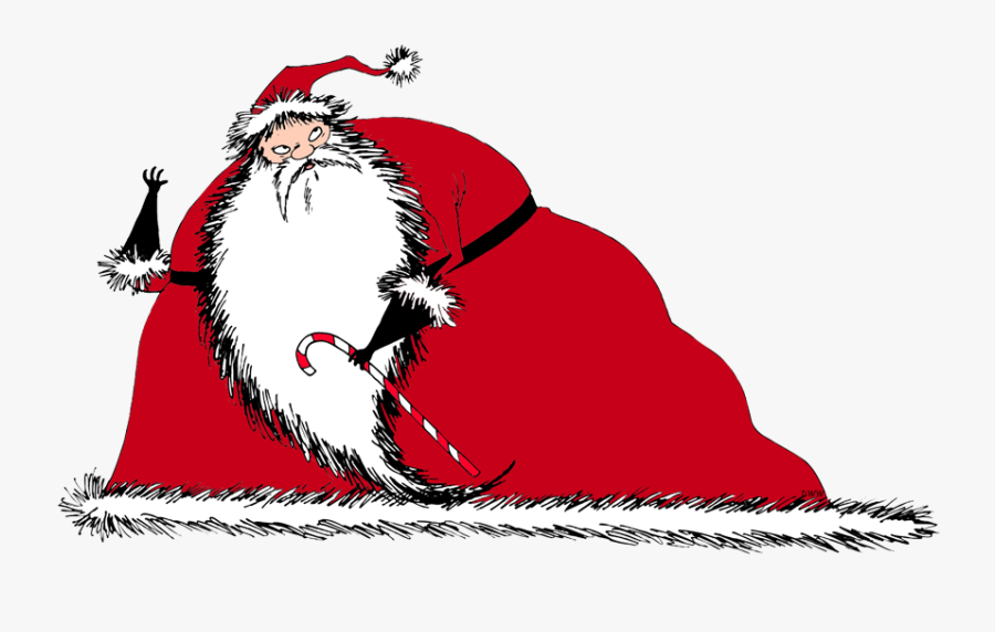 Nightmare Before Christmas Santa, Transparent Clipart