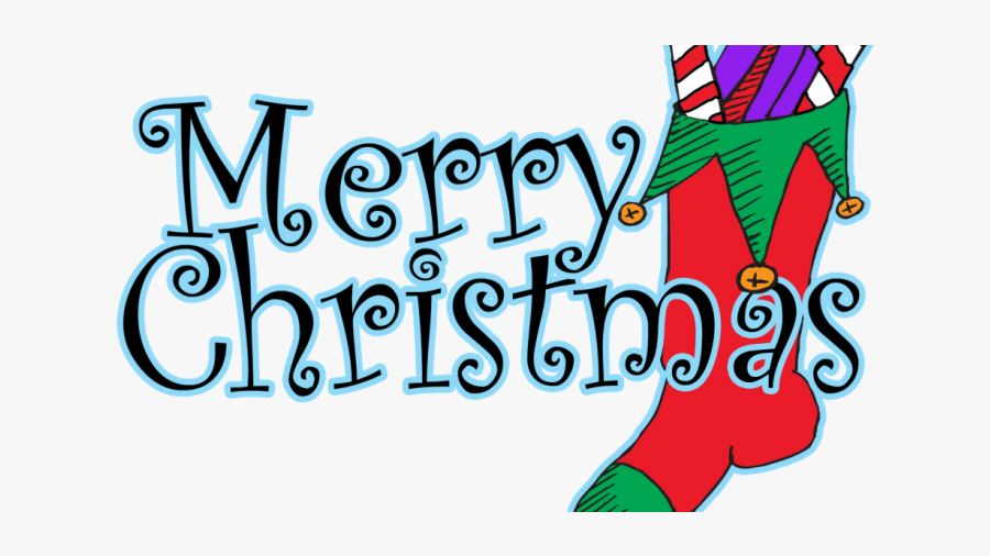 Free Merry Christmas Clipart Free Merry Christmas Clip - Merry Christmas In Words, Transparent Clipart