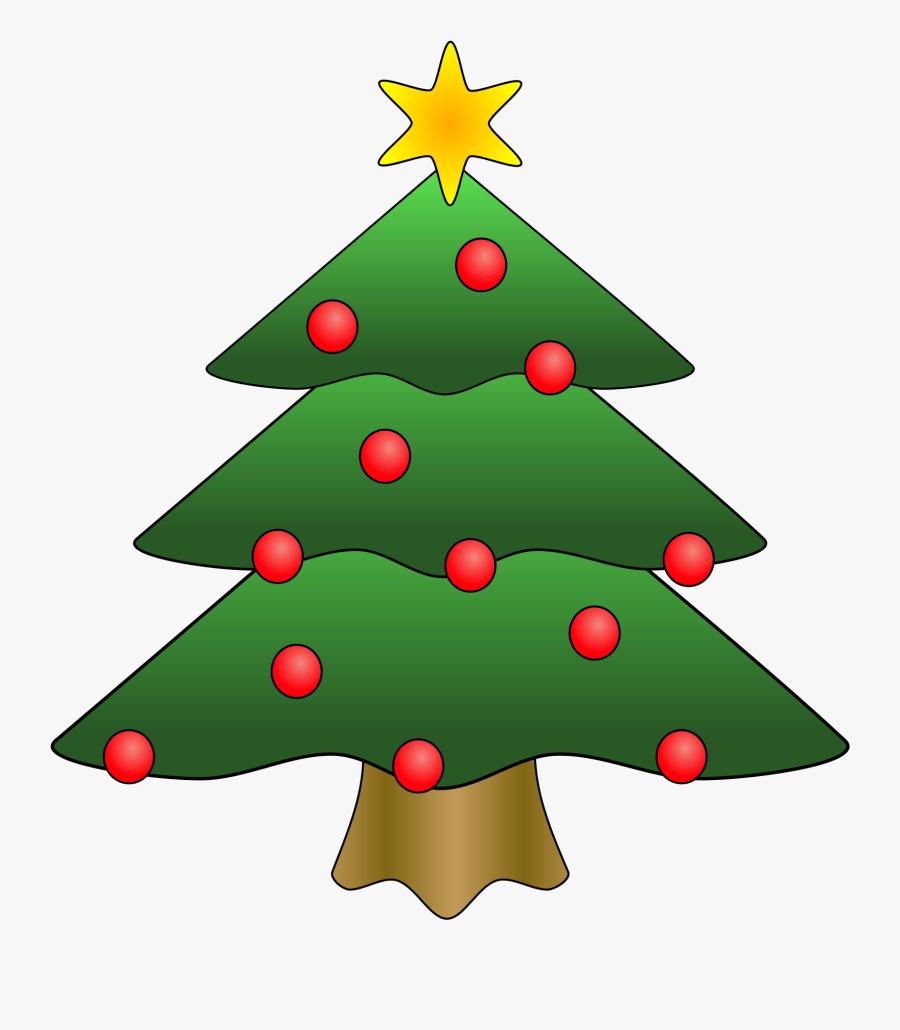 Christmas - Clipart - Christmas Tree Clipart, Transparent Clipart