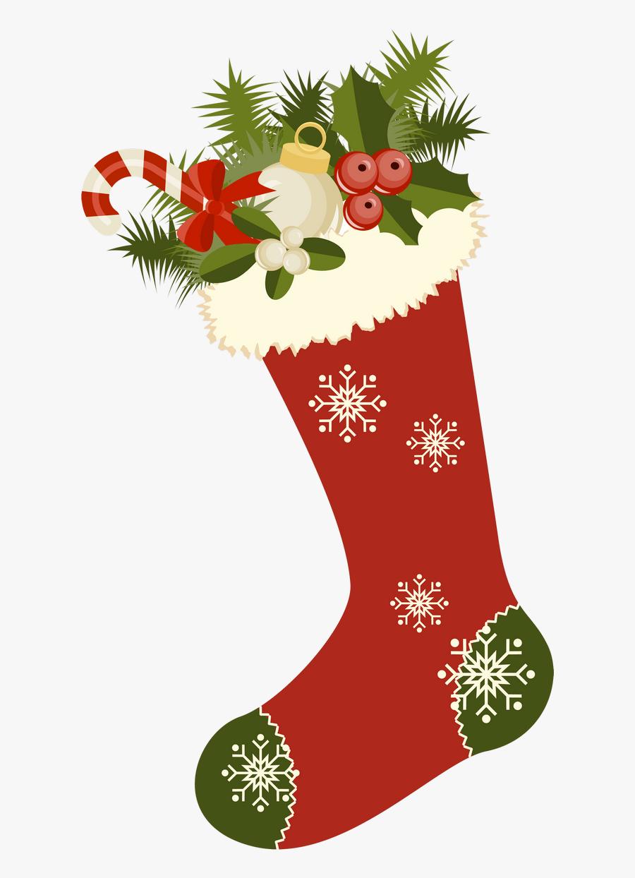 Banner Freeuse Vintage Stockings Printibles Digi - Vintage Christmas Clipart, Transparent Clipart