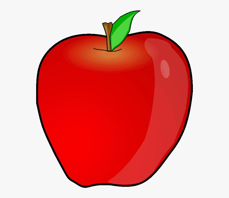 An Apple Clipart - Clip Art Fruit Apple, Transparent Clipart