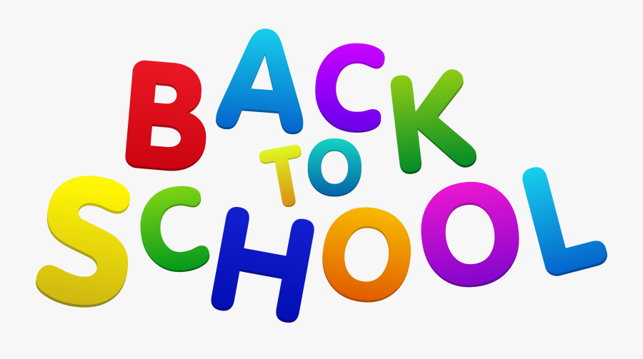 Back To School Clipart Cl - New School Year Clipart, Transparent Clipart