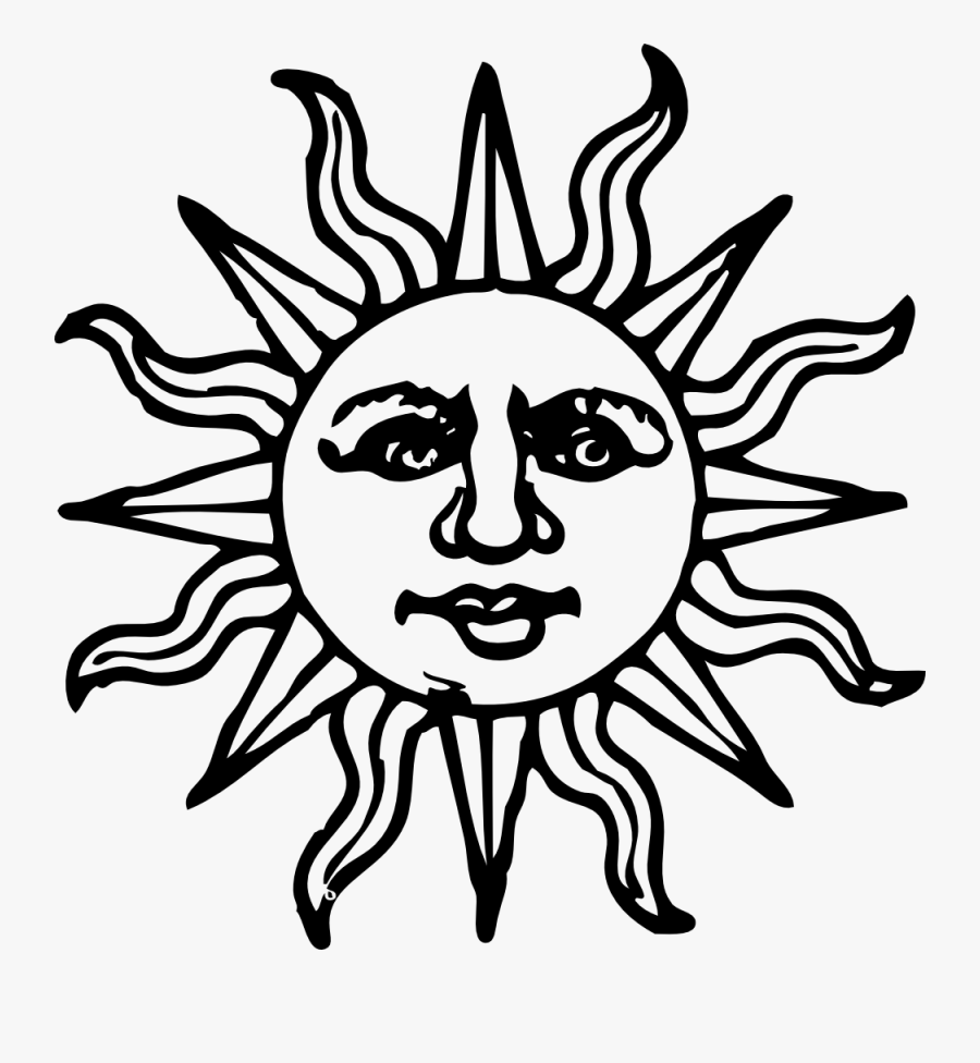 Half Sun Clipart Outline Different Types Of Sun Drawing Free
