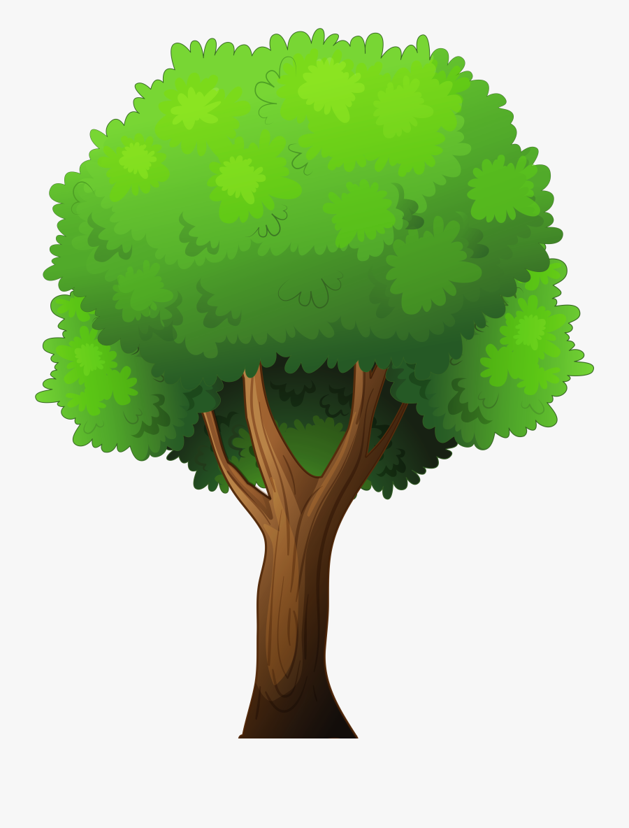 Tree Png Clip Art - Transparent Background Clipart Tree Png, Transparent Clipart