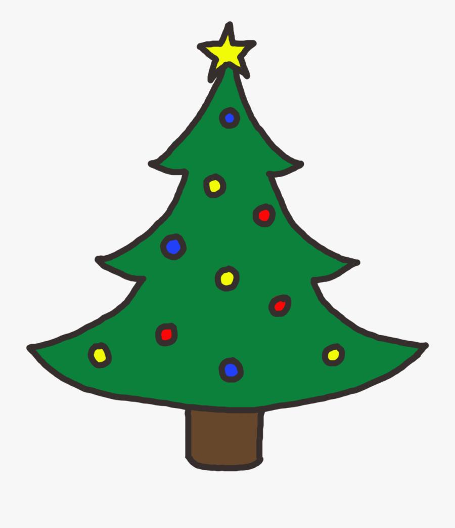 Christmas Tree Clip Art Free - Clip Art Christmas Tree, Transparent Clipart