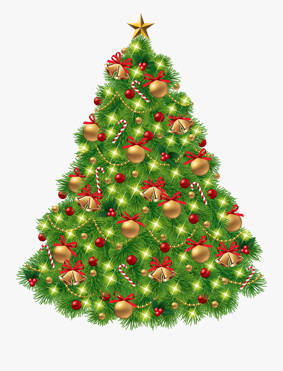 Christmas Tree Png Clipart - Christmas Tree With Bells, Transparent Clipart