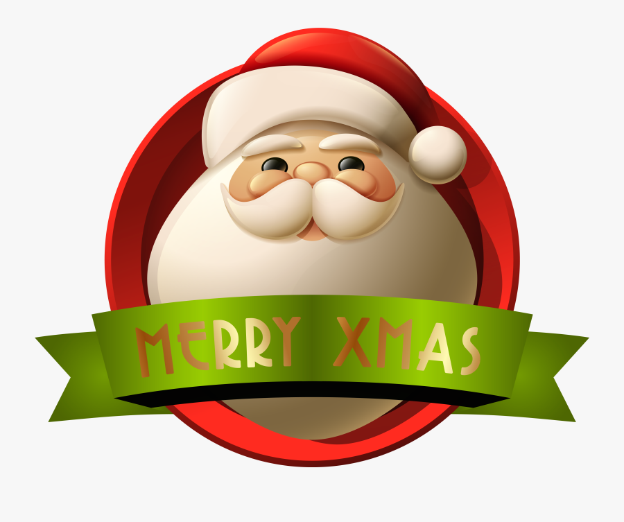 Merry Christmas Clipart For Free Download - Merry Christmas Santa Png, Transparent Clipart