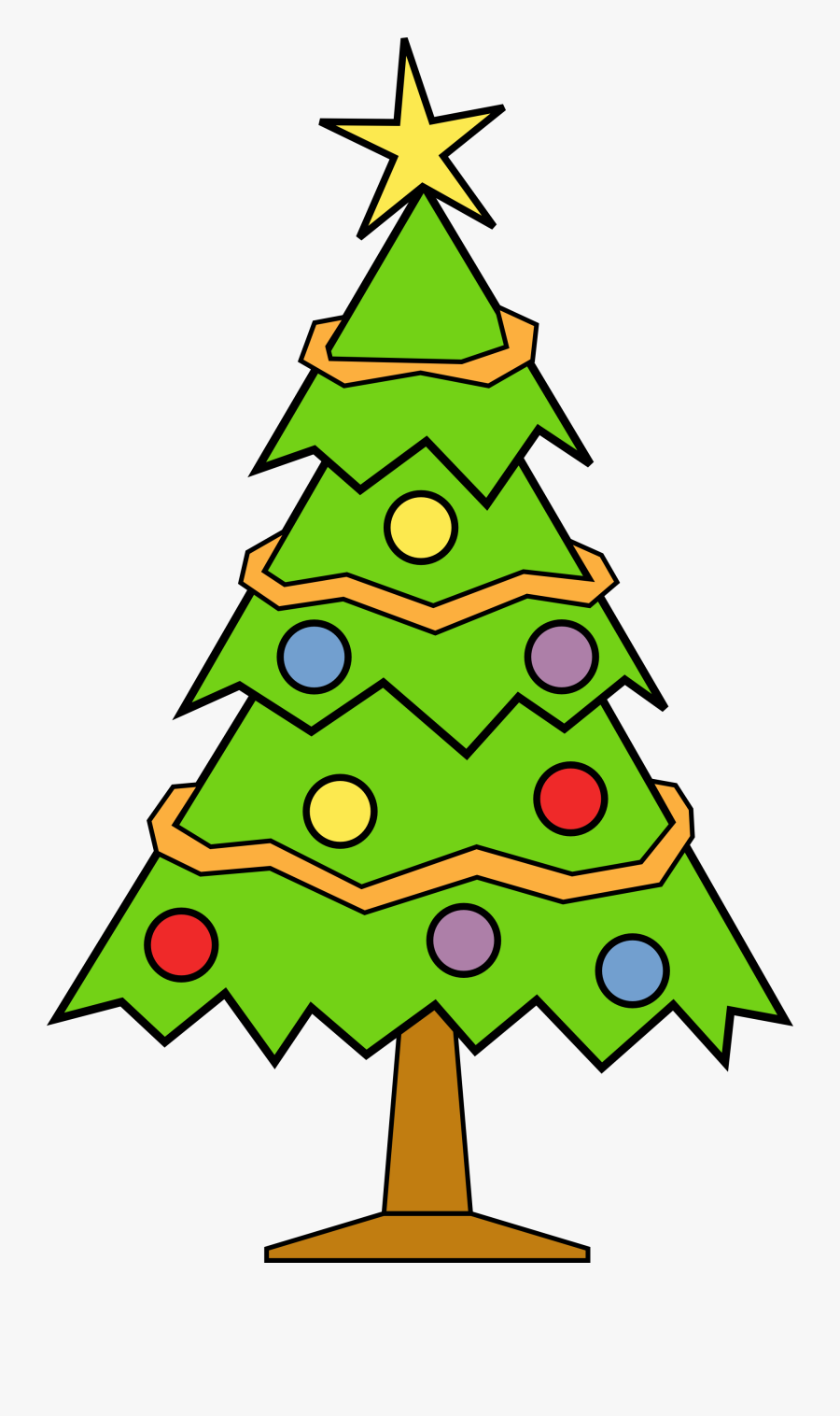 Christmas Tree Clip Art To Download - Christmas Tree ...