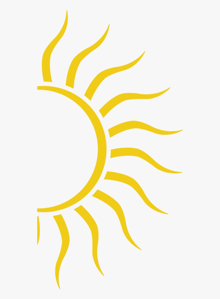 28 Collection Of Half Sun Clipart Png - Half Sun Png Transparent, Transparent Clipart