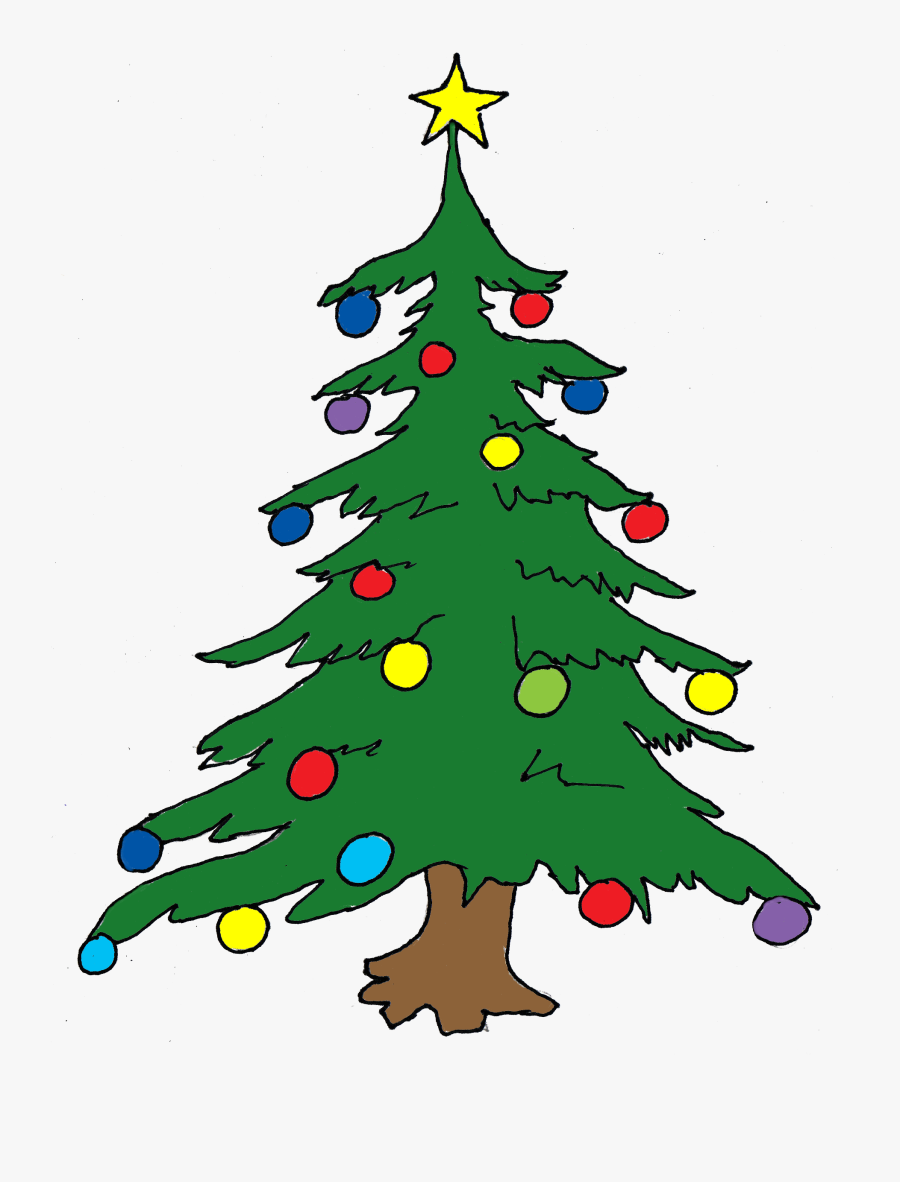 Christmas Tree Clip Art Free Clipart Images - X Mas Tree Clipart, Transparent Clipart