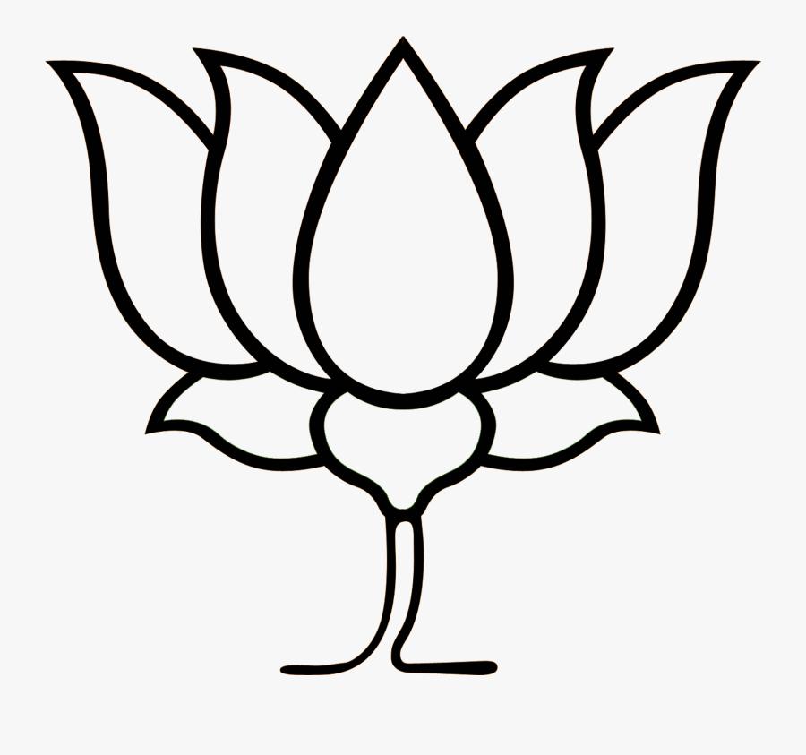 Kamal Flower Clipart , Transparent Cartoons - Bharatiya Janata Party, Transparent Clipart