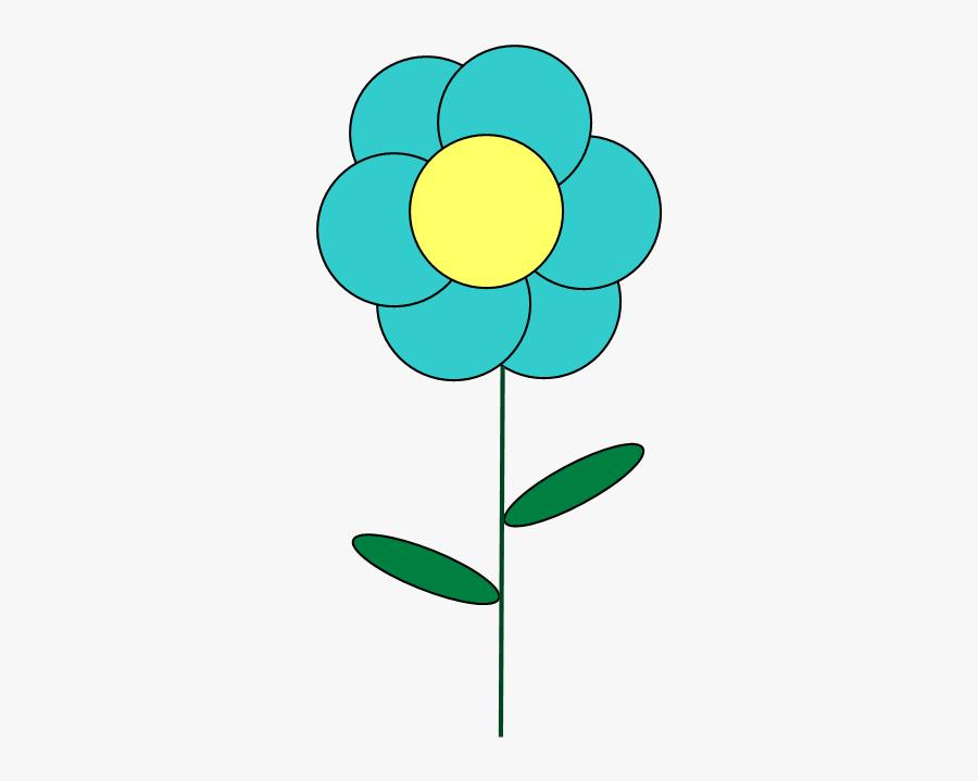 Clip Art Little Flower Clipart - Little Clip Art Flowers, Transparent Clipart