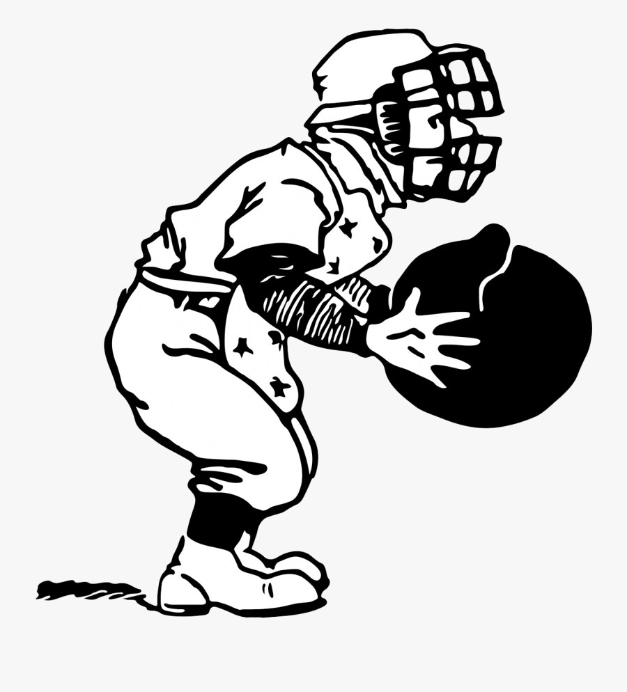 Baseball Clipart Png - Playing Baseball Clipart Black And White, Transparent Clipart