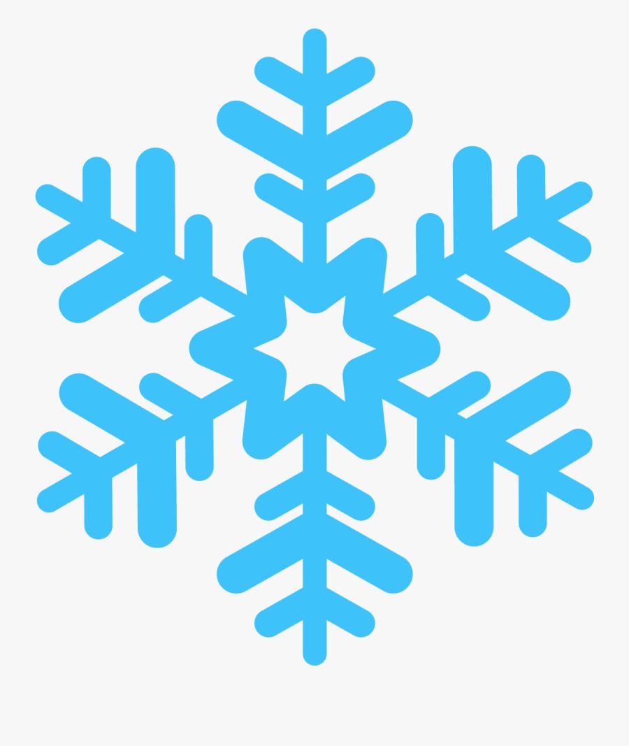 Snowflake Clip Art - Transparent Background Snowflake Png, Transparent Clipart