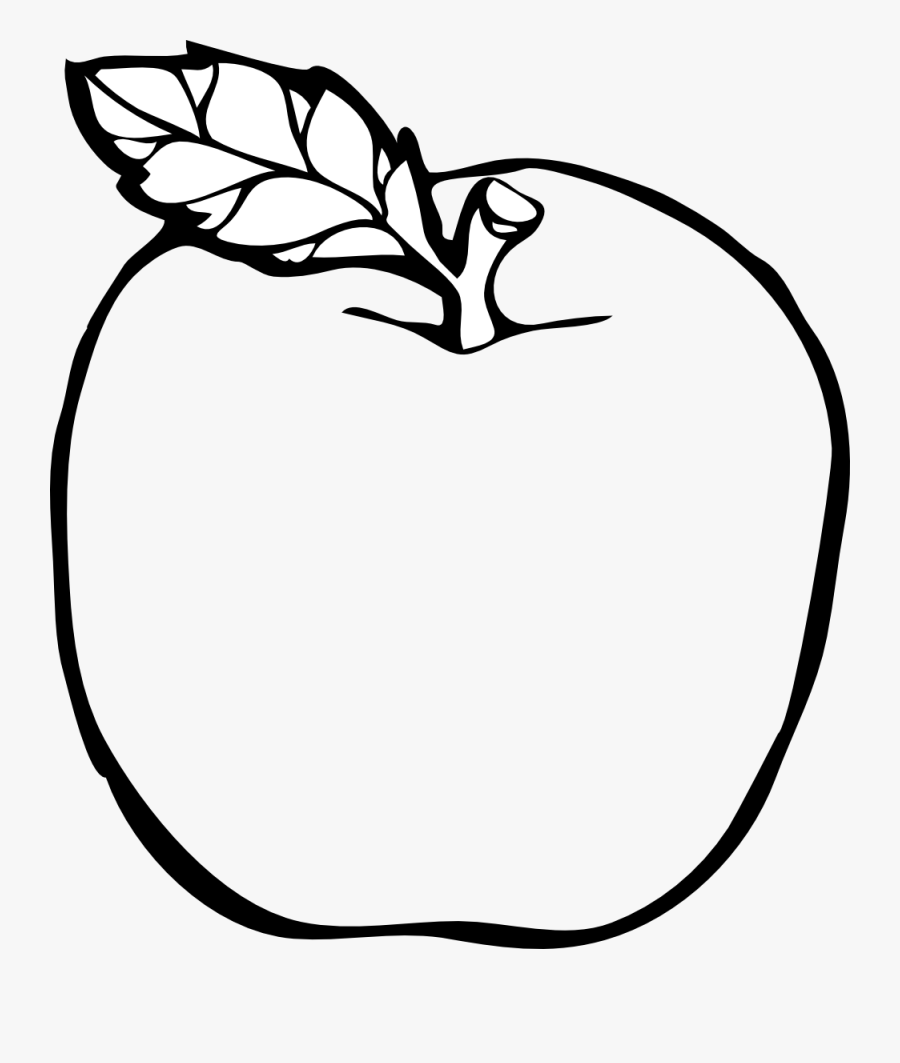 Nail Clipart Black And White Apple Clip Artclipart - Apple Clipart Black And White Transparent, Transparent Clipart