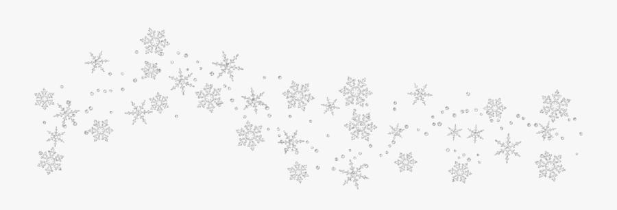 Snowflake Border Png - Transparent Background Snowflake Border , Free Transparent  Clipart - ClipartKey