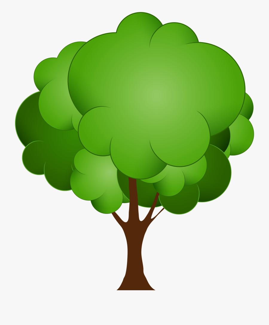 Green Tree Png Clip Art - Trees Clip Art Png, Transparent Clipart