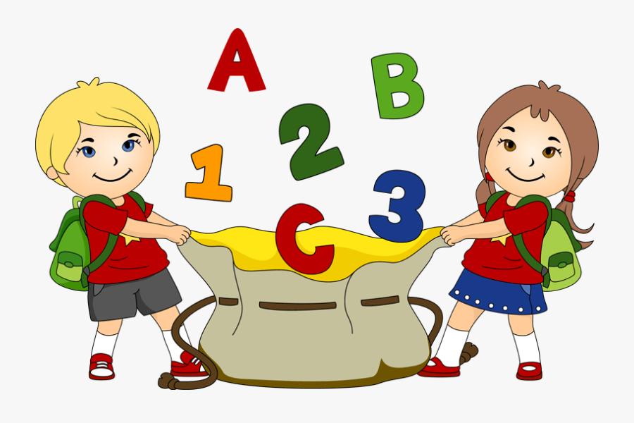 School Fun Clipart - School Student Clipart Png, Transparent Clipart