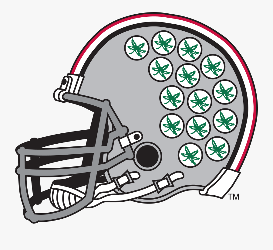 28 Collection Of Ohio State Football Clipart Free - Ohio State Helmet Clipart, Transparent Clipart