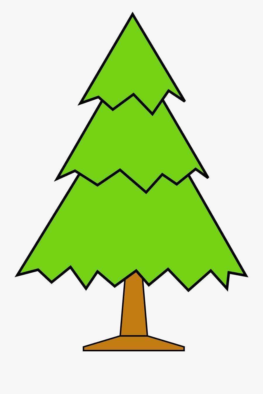 Christmas Tree Clip Art - Green Christmas Tree Clipart, Transparent Clipart