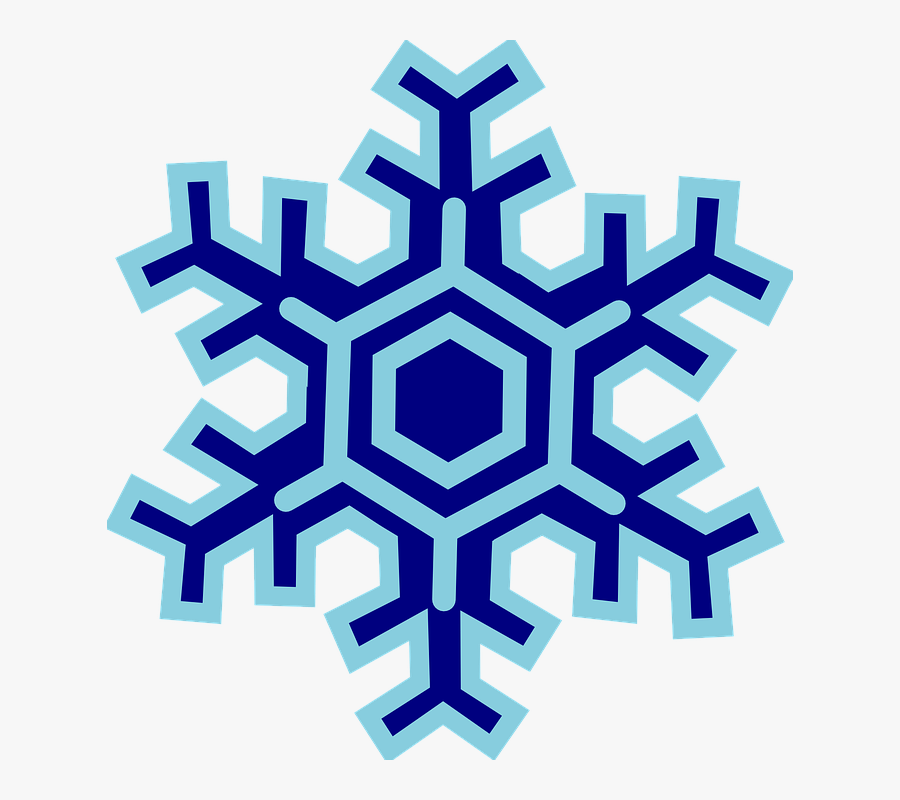 Snowflake - Clipart - Transparent - Background - Mlp Blue Snowflake Cutie Mark, Transparent Clipart