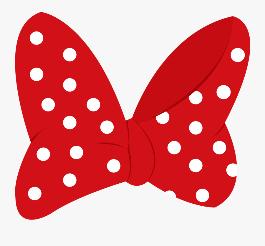 Minnie Mouse Mickey Mouse Clip Art - Minnie Mouse Ribbon Png, Transparent Clipart