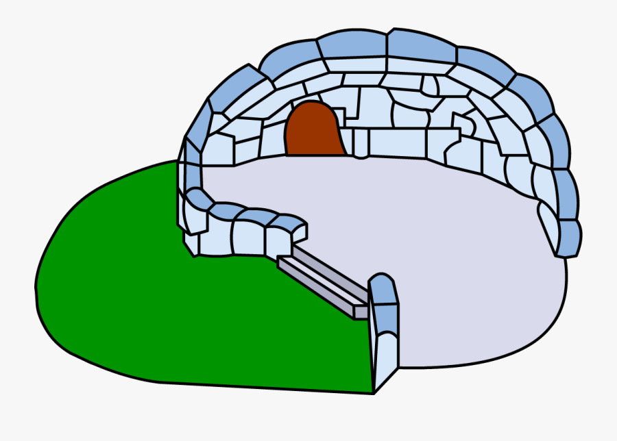 Igloo Clipart - Club Penguin Wiki Igloo, Transparent Clipart