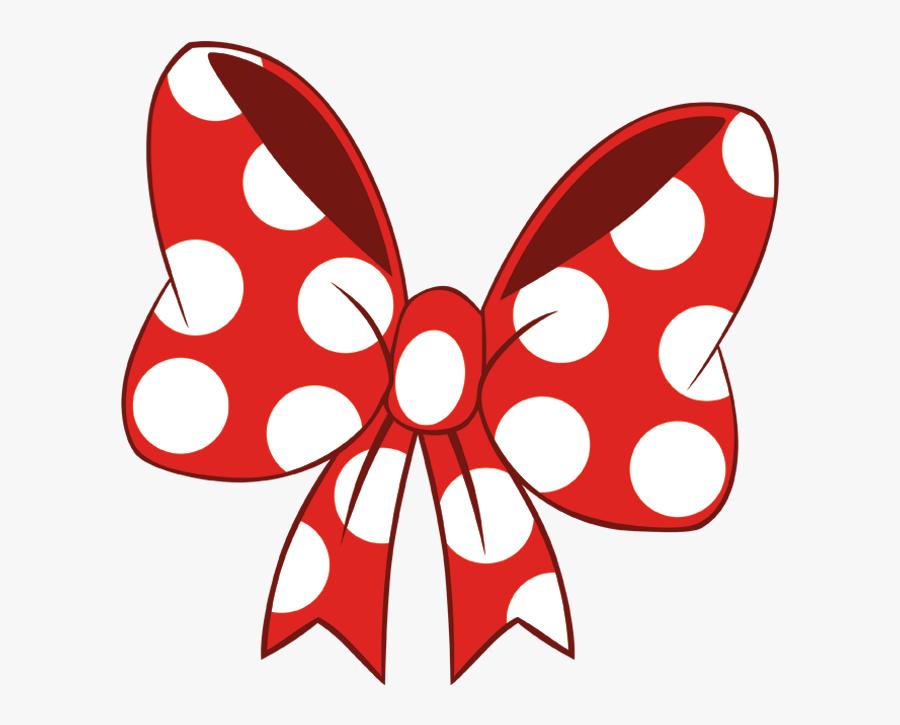 Pink Transparent Minnie Mouse Bow - Minnie Mouse Bow Png, Transparent Clipart