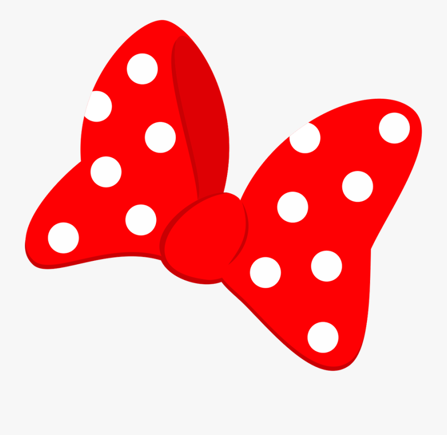 Laço Mickey Mouse Png, Minnie Bow, Mickey House, Mini - Bow Minnie Mouse Png, Transparent Clipart