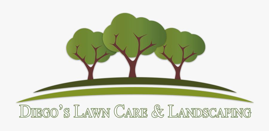Transparent Lawn Care Png - Clip Art Landscaping Logo, Transparent Clipart