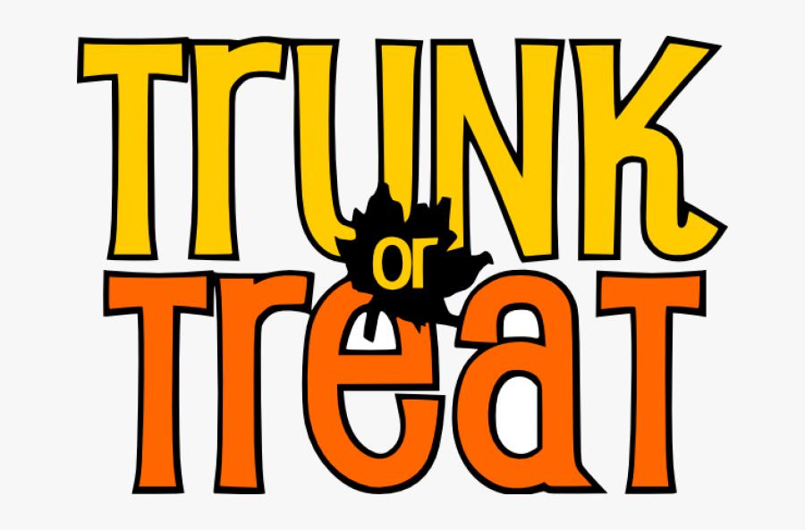 Transparent Cheer Megaphones Clipart - Halloween Trunk Or Treat Clipart, Transparent Clipart