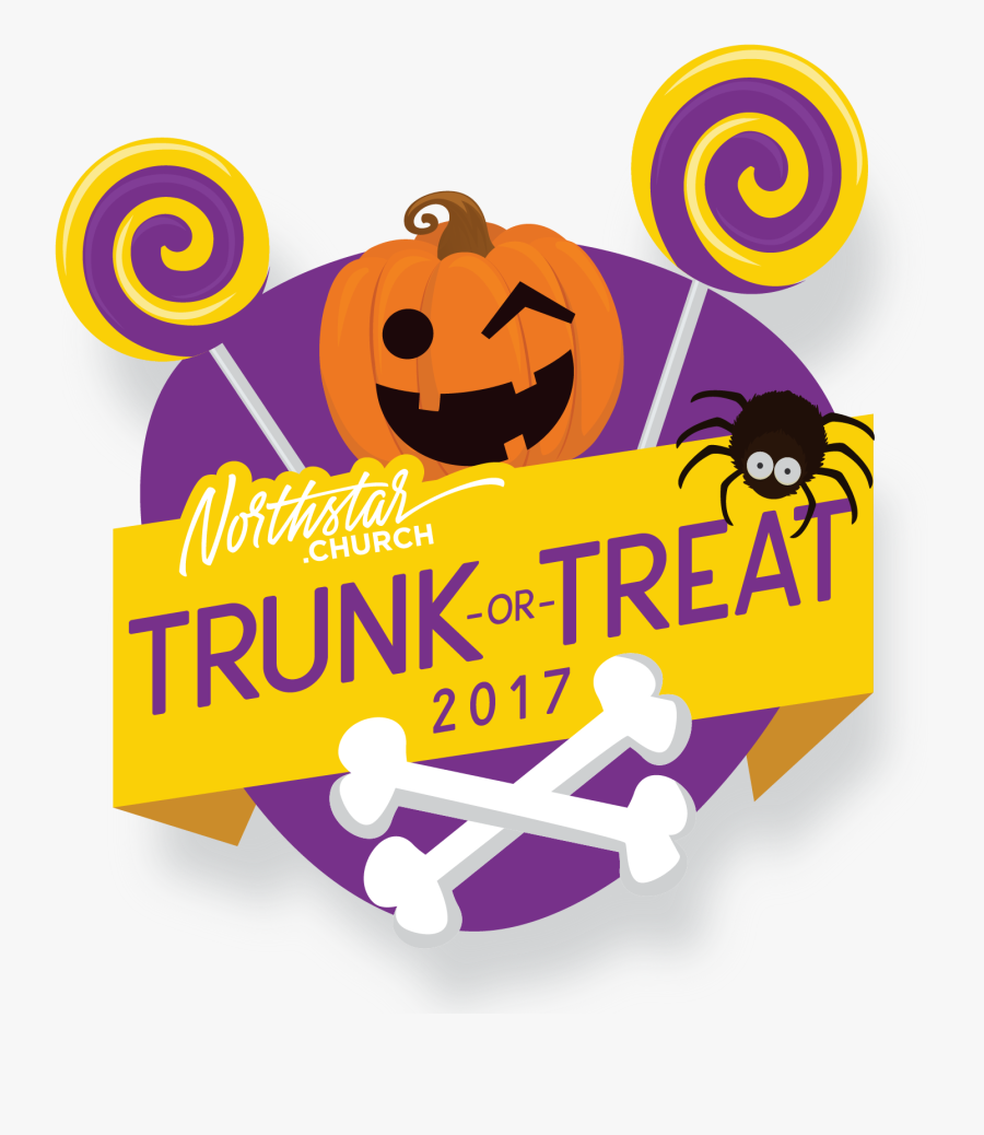 Trunk Or Treat 2017 Logo@2x - Trunk Or Treat Cover, Transparent Clipart
