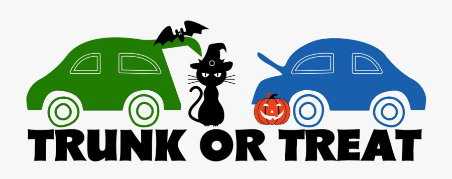 Trunk Or Treat Parking Lot Setup, Transparent Clipart