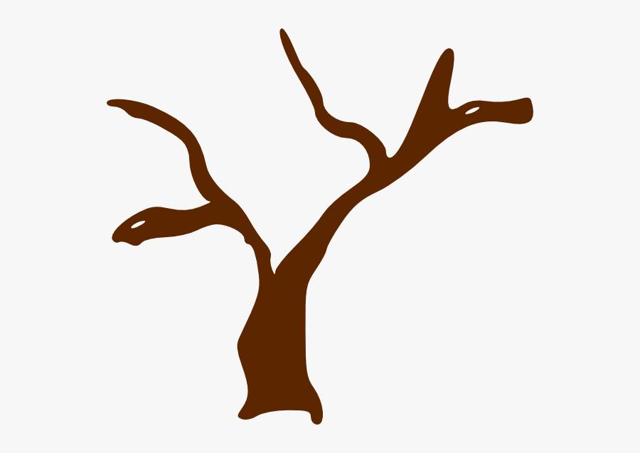 Tree Trunk Clip Art At Clker - Tree Trunk Clipart Transparent, Transparent Clipart