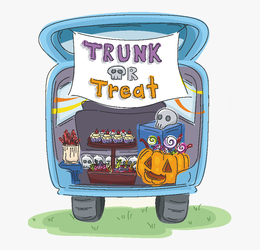 Transparent Trunk Or Treat Clipart - Trunk Or Treat Png, Transparent Clipart