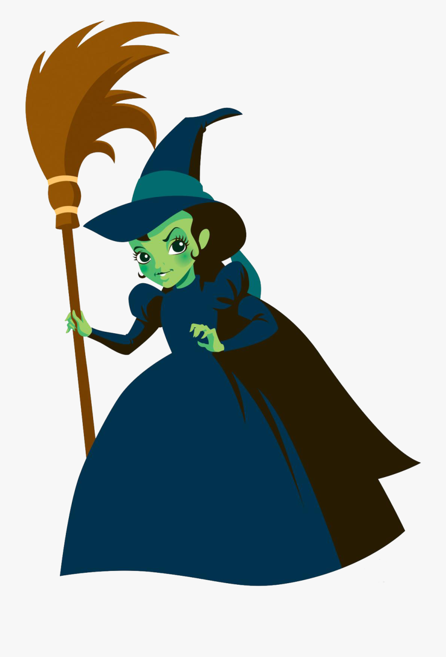 Wizard Of Oz Wicked Witch Cartoon, Transparent Clipart