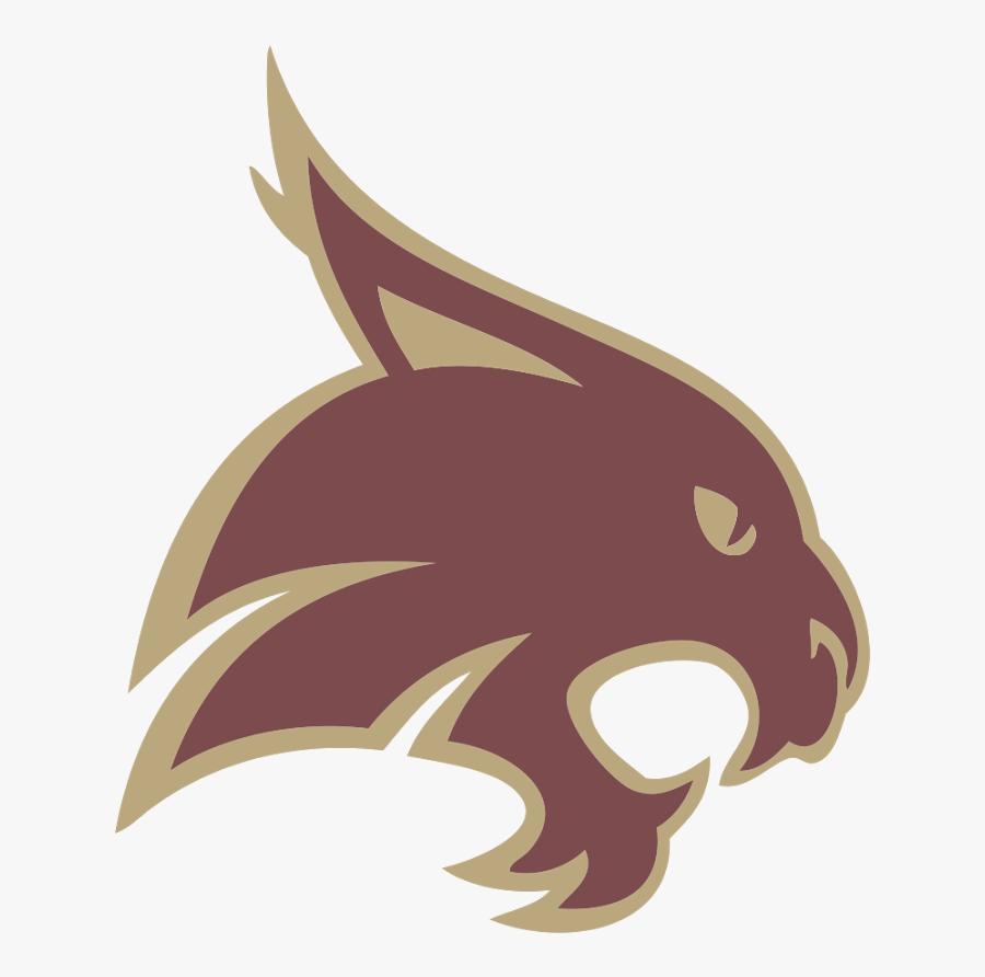 Logo Free Transparent Logos - Bobcat Texas State University, Transparent Clipart