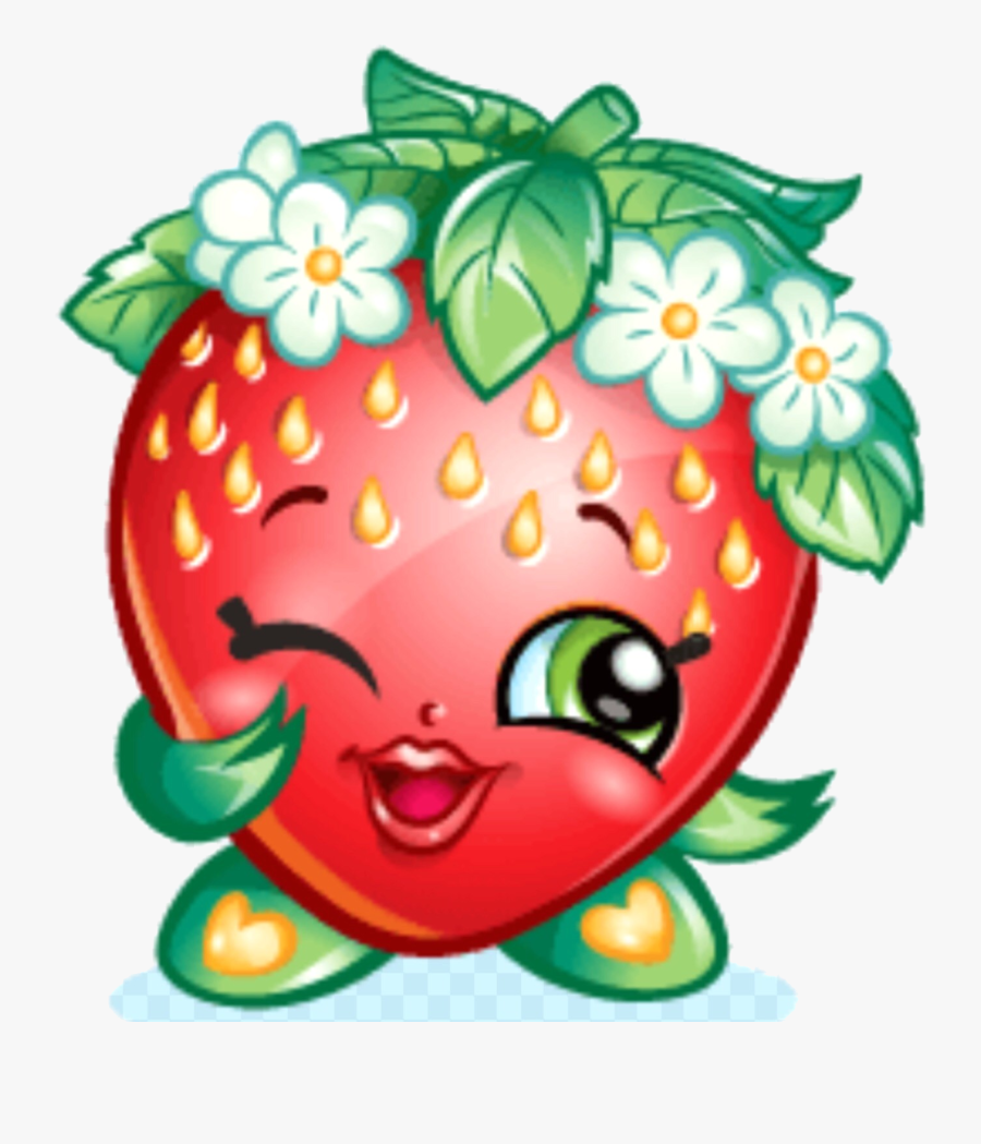 Shopkins Clipart Transparent Png Shopkins Strawberry Kiss Free Transparent Clipart Clipartkey