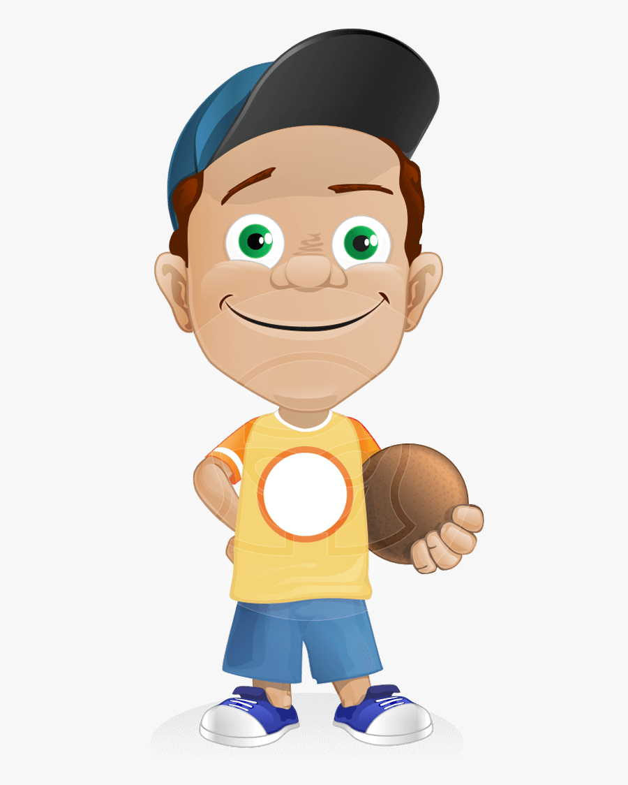 Sporty Boy Cartoons, Transparent Clipart