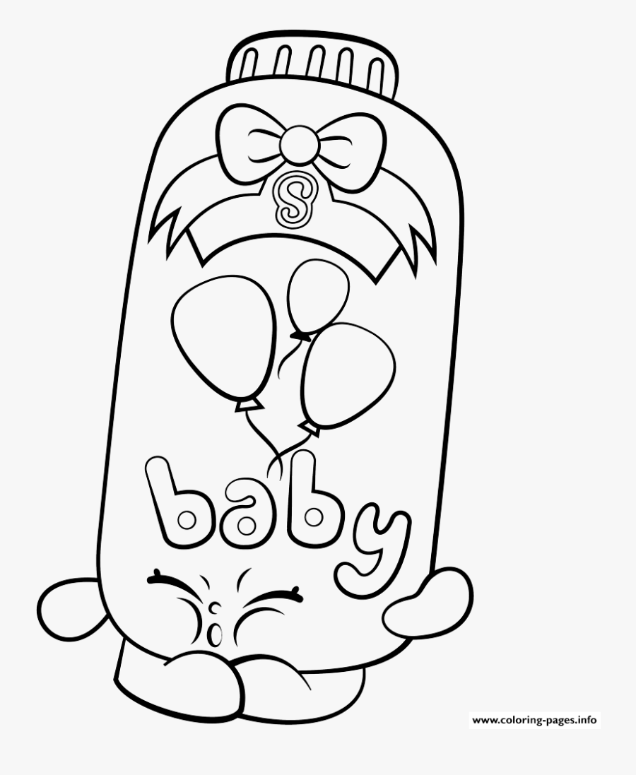 Print Powder Baby Puff Shopkins Season 2 Coloring Pages - Gambar Shopkins  Black And White , Free Transparent Clipart - ClipartKey